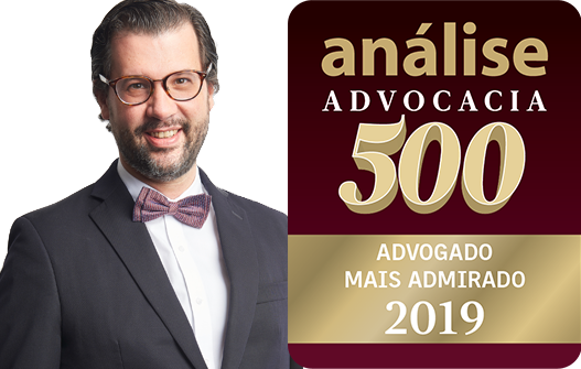 "Senior Partner Pedro Amaral Salles named: Band 1 ""Most Admired Lawyers"", Agrarian Law Practice; Band 2 ""Most Admired Lawyers"" of São Paulo; Band 3 ""Most Admired Lawyers"", Sugar and Ethanol Practice; Band 4 ""Most Admired Lawyers"", Agricultural Practice and Paper and Cellulose Practice and Band 5 ""Most Admired Lawyers"", Financial Practice."